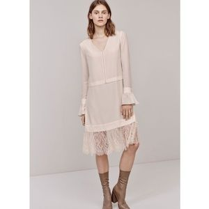 Thakoon NWT Lace Silk Crepe de Chine Dress